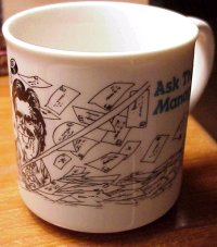 The ATM mug, early 1990s