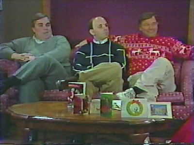 Cliff, Seand and Dana on Christmas show